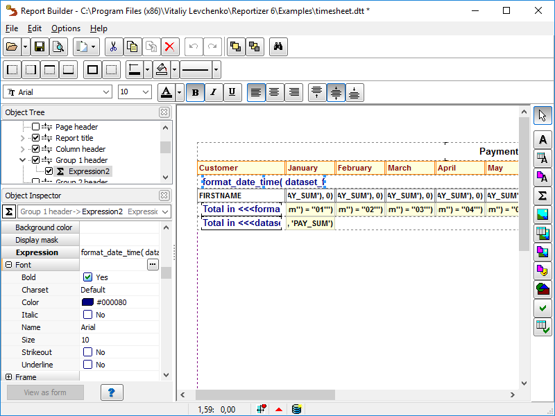 Universal Database Tool - Database Tour
